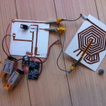 testing whether the speaker will be affected if extra bits were added to the spiral to accomodate the desired aesthetics