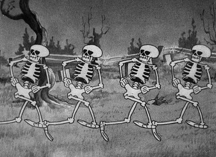 spooky scary skeletons song