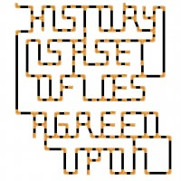 6history_is_a_lie_typeface