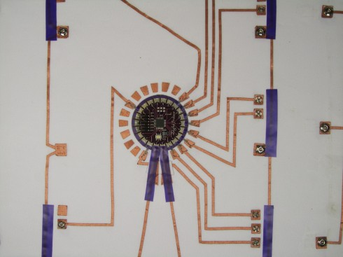 Circuit Mat (detail)